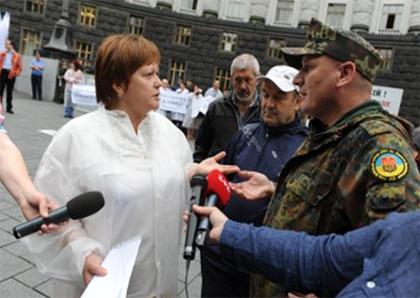 Херсонские аптекари пикетировали Кабмин