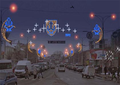 Херсону иллюминация, как в Виннице - «не светит»