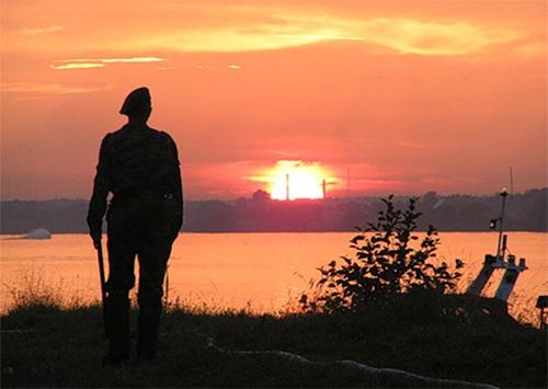 В Геническе пропал украинский пограничник