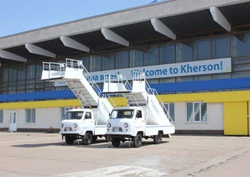 Херсонський аеропорт: історія і доля
