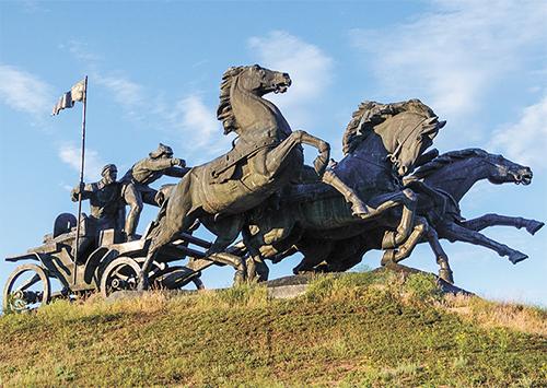 """Памятник буденновцам возле автодороги """"Киев-Львов"""" демонтируют в мае, если к тому времени его не разберут охотники за медью - Цензор.НЕТ 4485"""