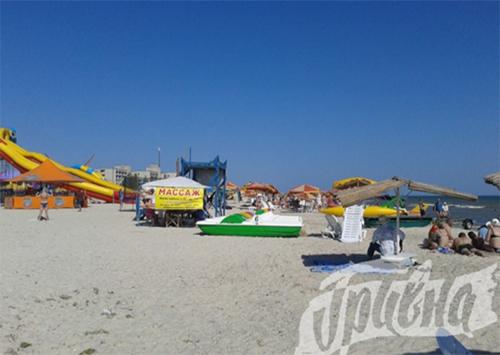 Курорты Херсонщины: «теневой» бизнес на пляжах