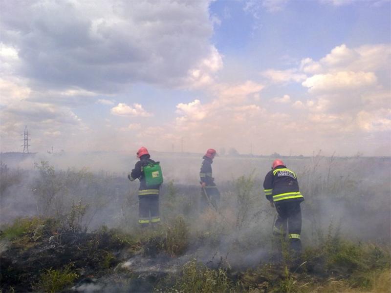 На території Херсонщини пожежна небезпека найвищого класу