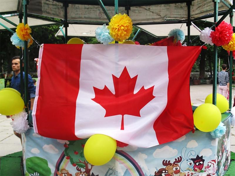 Херсонцы отпраздновали День рождения Канады