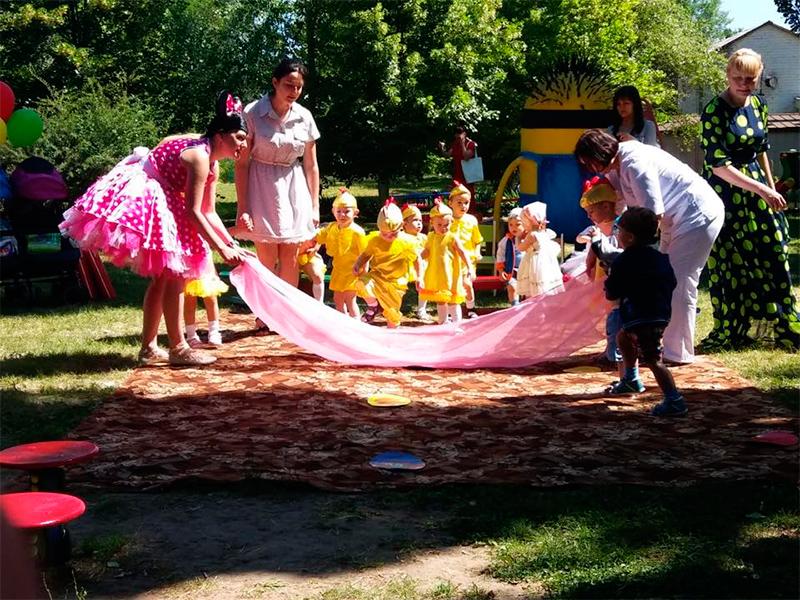 Свято у Херсонському будинку дитини