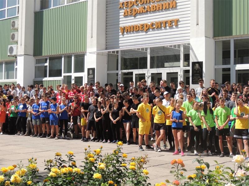 Всеукраїнський забіг «Зелена миля 2018» у Херсоні