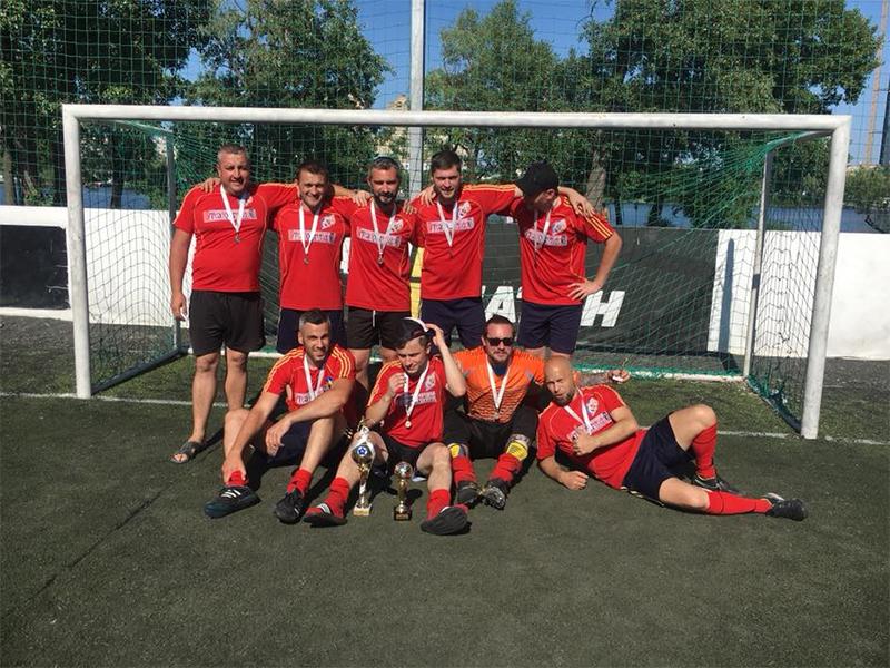 Херсонський театр – футбольні чемпіони