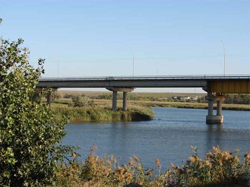 Два ЧП на одном мосту Херсонщины