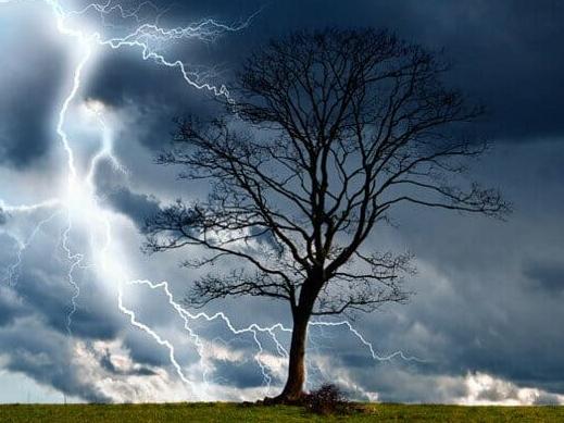 На Херсонщине даже грозы становятся «злее»