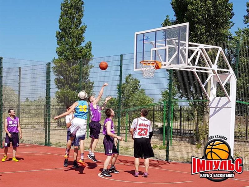 Свято сім'ї, дружби та баскетболу в Генічеському районі