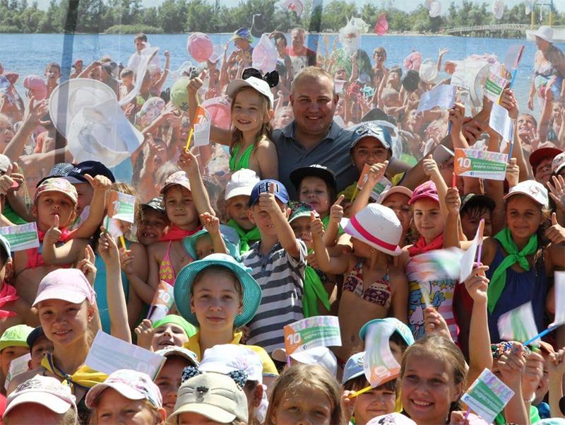 В Херсоне состоялось торжественное открытие Школы плавания Андрея Путилова