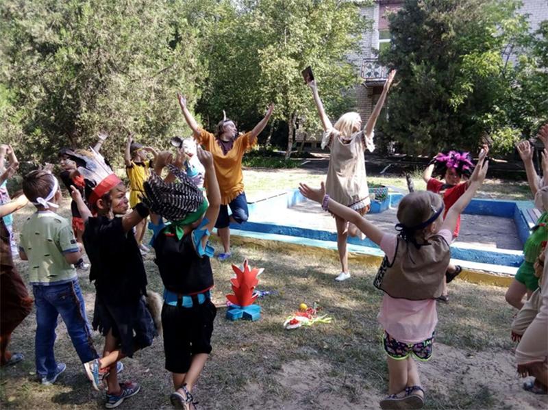 """У Скадовську святкують """"День індіанців"""""""