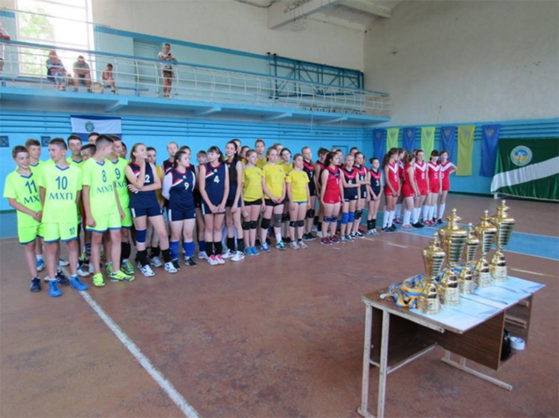 Волейболістки з Скадовського району гідно представили Херсонщину