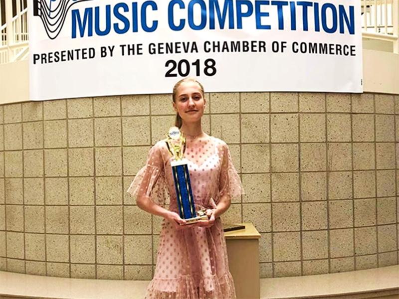 Блестящая победа пианистки из Херсонщины в США