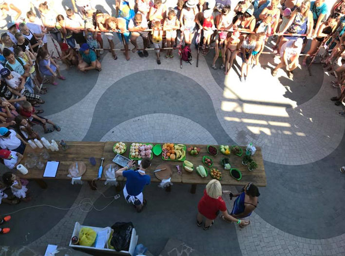 Как в Геническе фестивалили здоровые и красивые