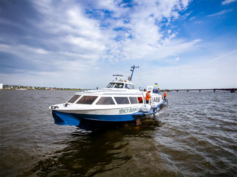 На Херсонщині доступне задоволення на підводних крилах