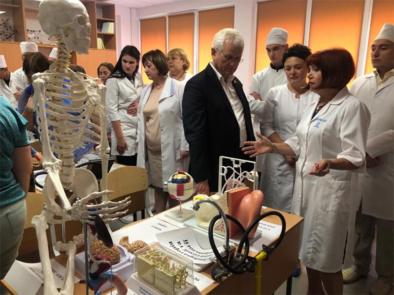 Медичний факультет ХДУ вдосконалює матеріальну базу