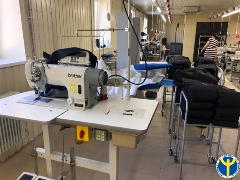 До швейного цеху в селищі Нововоронцовка вже працевлаштовано понад 20 осіб