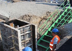 В Херсоне на заводе «Данон» залили в бетон