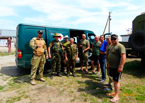 «Щит Херсона» помогает военным в зоне АТО