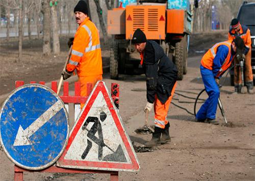 Эксперты УСПП отметили активизацию дорожного ремонта в Херсоне
