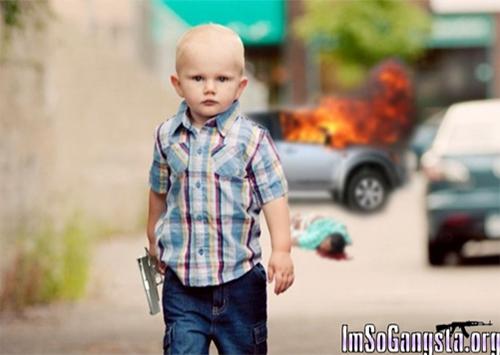 Как на Херсонщине малыш из детсада в бандита превратился