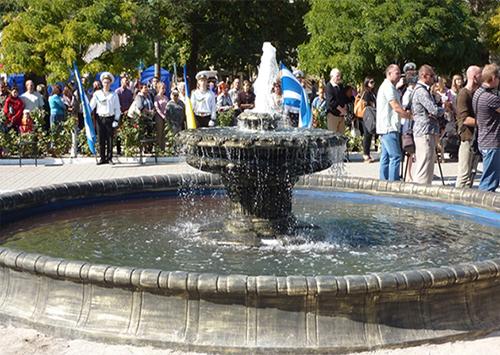Херсонский фонтан как средство политической борьбы