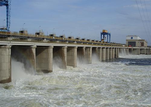 На Каховской ГЭС остановлен гидроагрегат