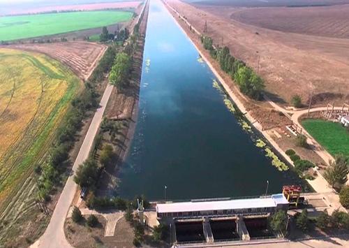 На Северо-Крымском канале приостановили строительство дамбы