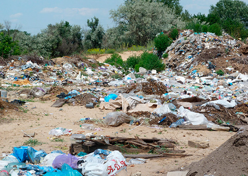 Екологічна ситуація на Херсонщині погіршується через сміття