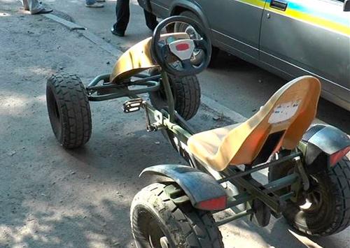 Угонщиков веломобилей ищет херсонская полиция
