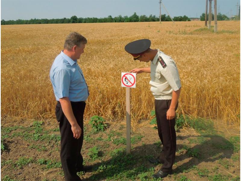 Як на Херсонщині врожай захищають
