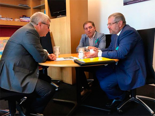 Вилкул встретился с вице-президентом Европарламента Чарнецким