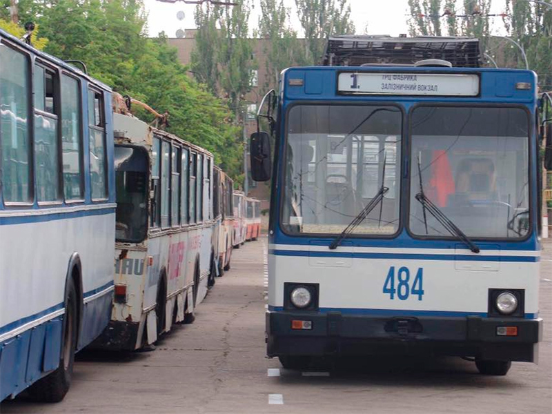 Херсон ощущает острую нехватку коммунального транспорта