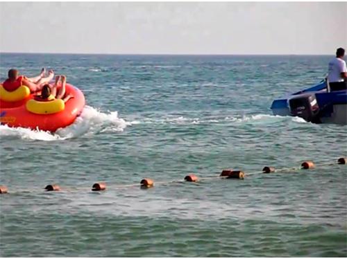 На пляжі Скадовська пірнальник із Голопристанського району потрапив під «моторку»