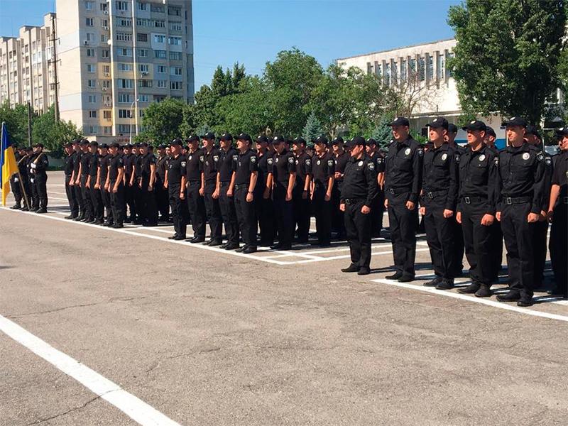 Поповнення в лавах поліції Херсонщини