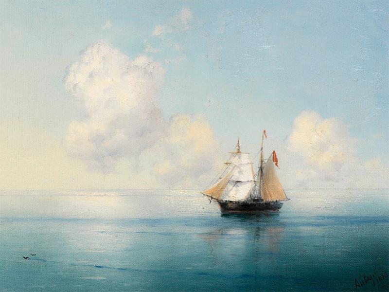 У Херсоні море на картинах