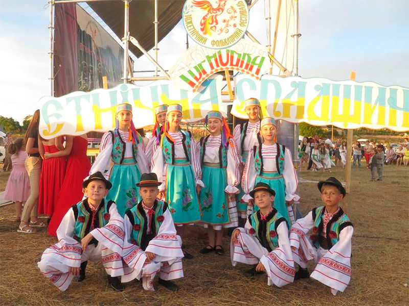 Херсонские болгары на этнофестивале