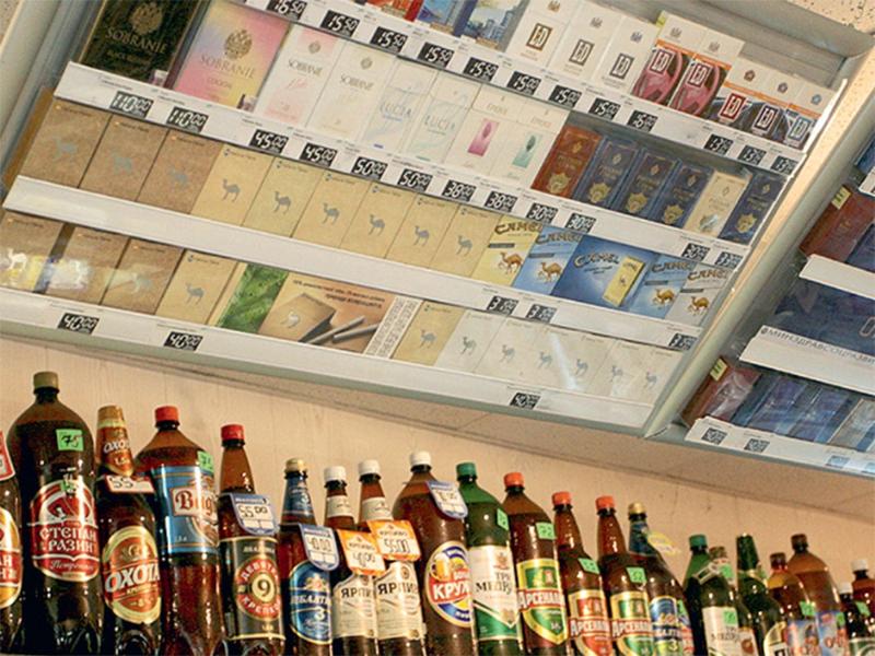 На курортах Херсонщини успішно легалізують торгівлю спиртним і тютюном