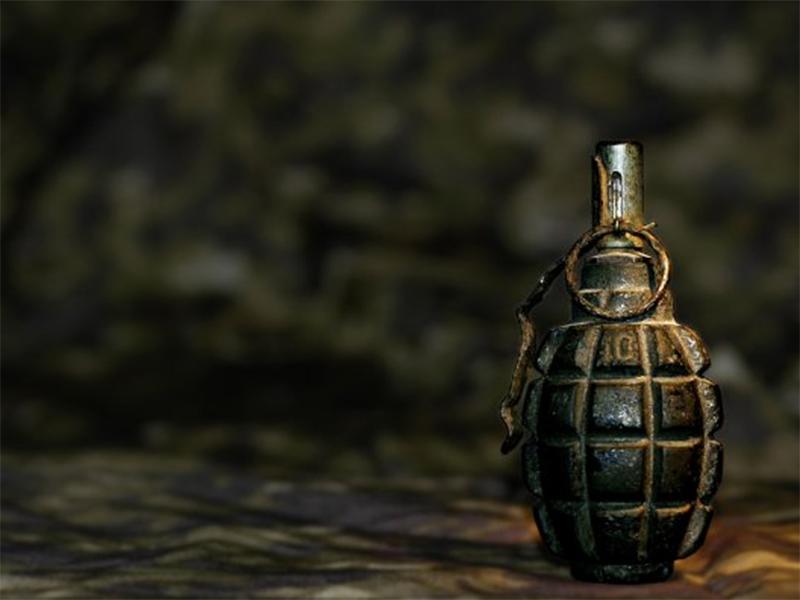 Гурмана з гранатою піймали в Херсоні