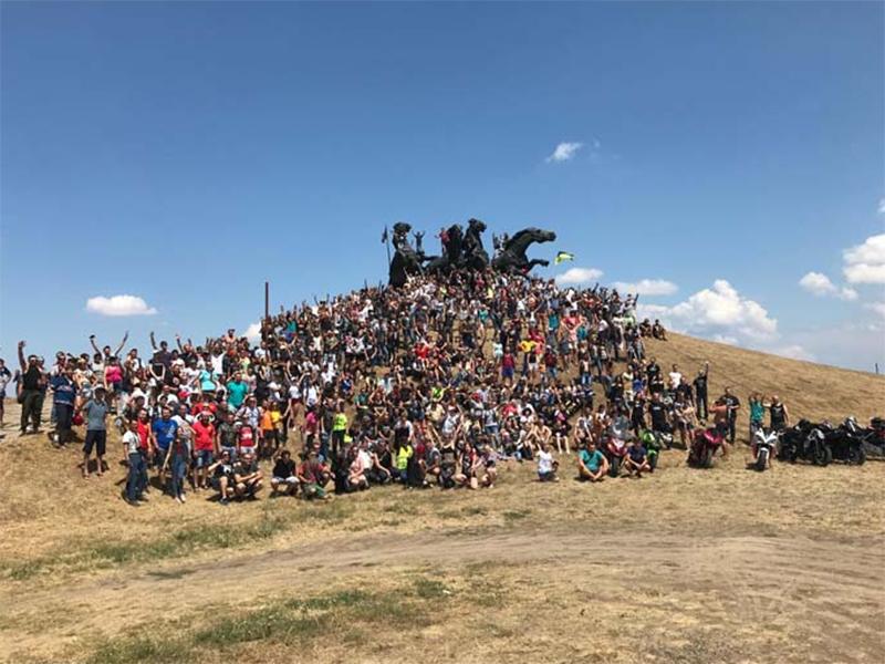 Мотофестиваль «Тачанка» у Каховці знову став міжнародним