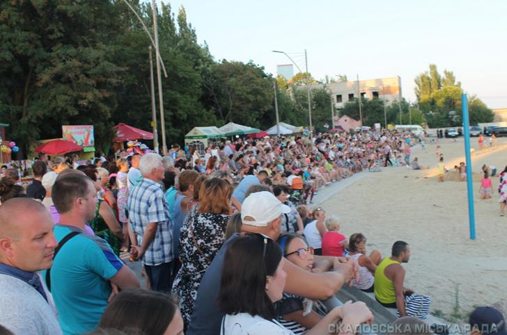 Скадовська громада витримала випробування фестивалем