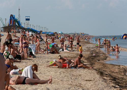 В праздничные дни  Генический район испытал туристический бум