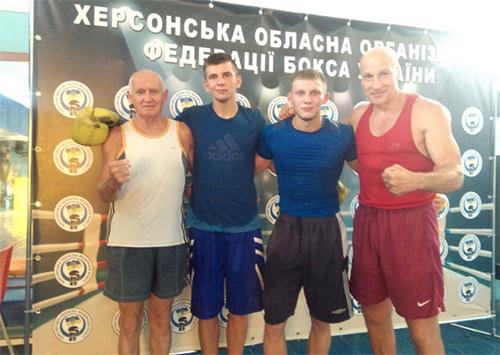 Херсонские боксеры начали подготовку к международному турниру в Измаиле