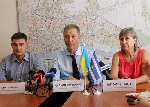 Володимир Сальдо повертається у політичне життя Херсона