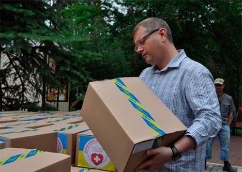 Вилкул поблагодарил волонтеров за единство и поддержку Украины
