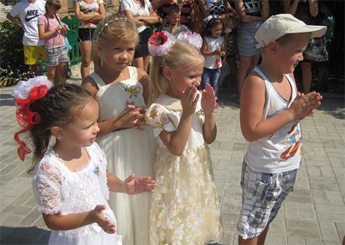 Святковий старт у шкільне життя в Херсоні