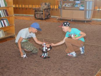 У Херсоні можна познайомитись з роботом