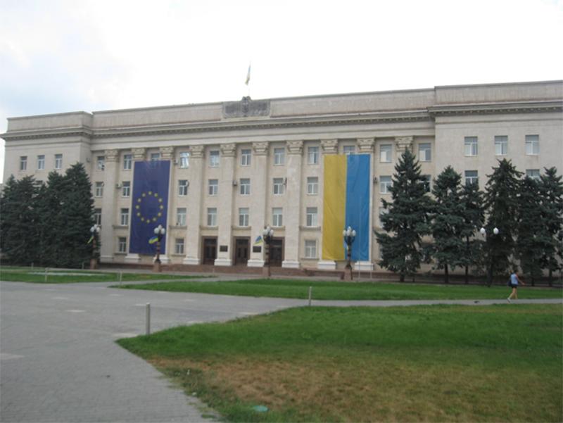 Херсонцам о перспективах Украины стать членом ЕС