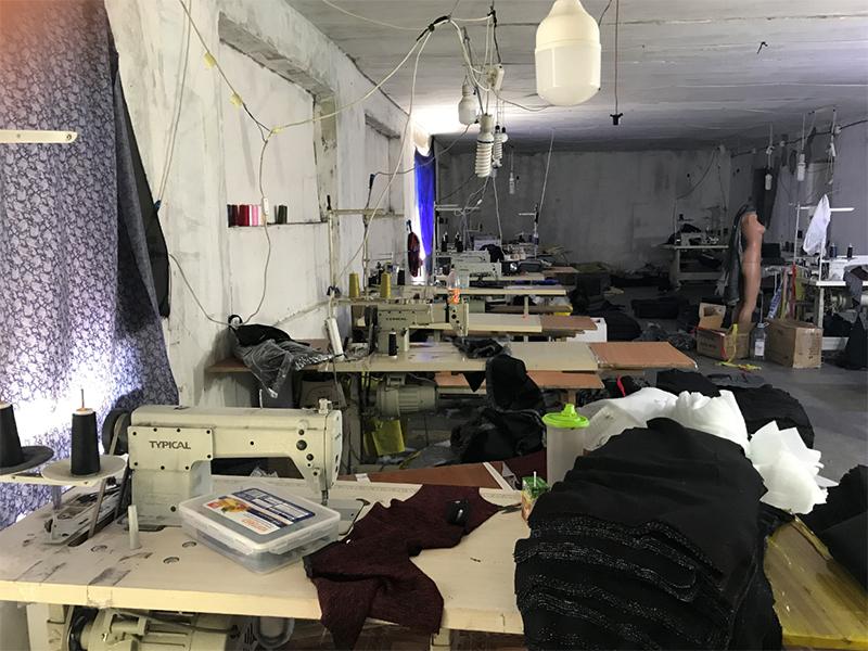 У Херсоні швейні «бренди» виготовляли іноземці-нелегали